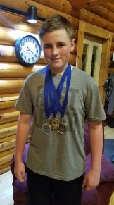 2nd Place Air Rifle Brock Malphy