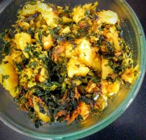 Aloo Methi Step By Step Recipe
