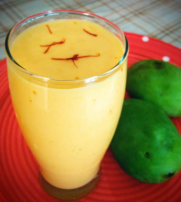 Mango Milkshake Recipe Step By Step Instructions
