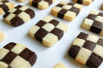 Checkerboard Cookies Recipe Step By Step Instructions