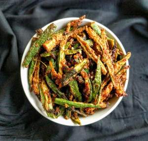 Kurkuri Bhindi Recipe Step By Step Instructions