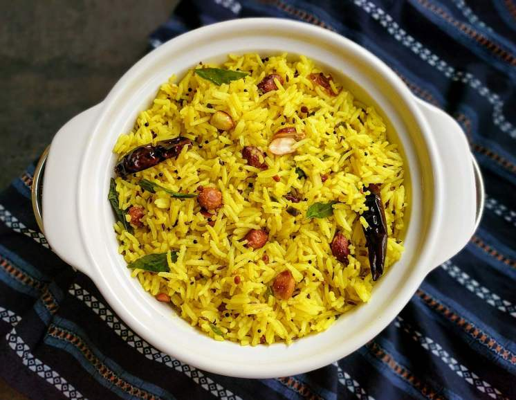 Lemon Rice Recipe Step by Step Instructions