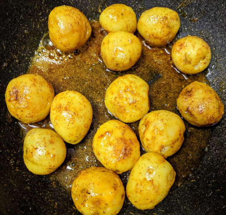 Dum Aloo Recipe Step By Step Instructions 6