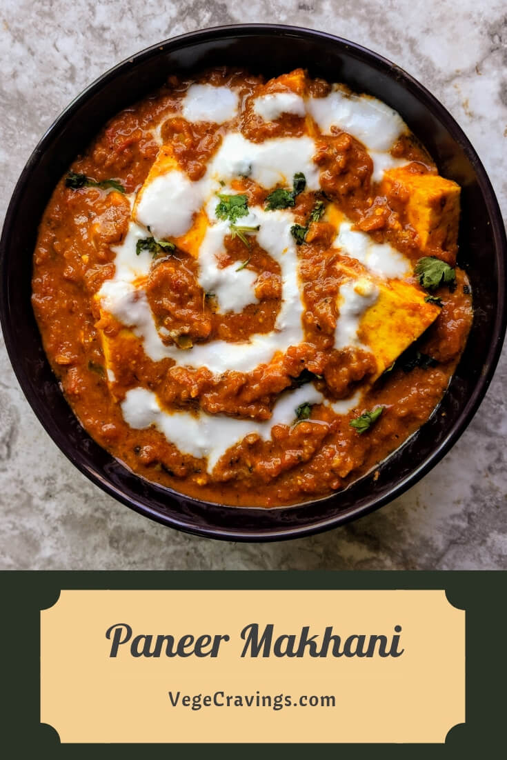 Paneer Makhani Recipe Step By Step Instructions Pinterest