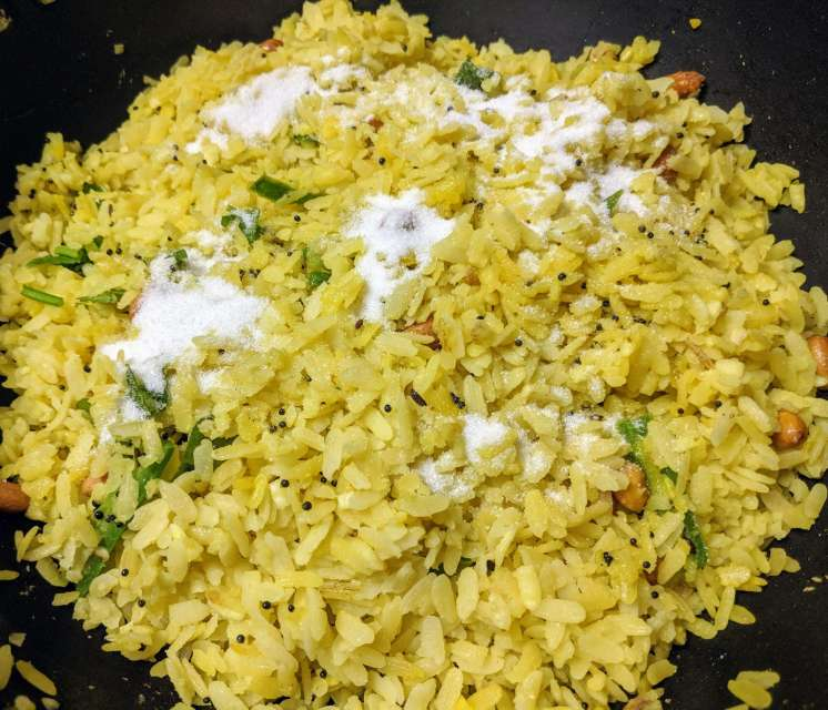 ndori Poha Recipe Step By Step Instructions 9