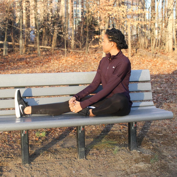 Maroon Nike Workout Outfit-9118