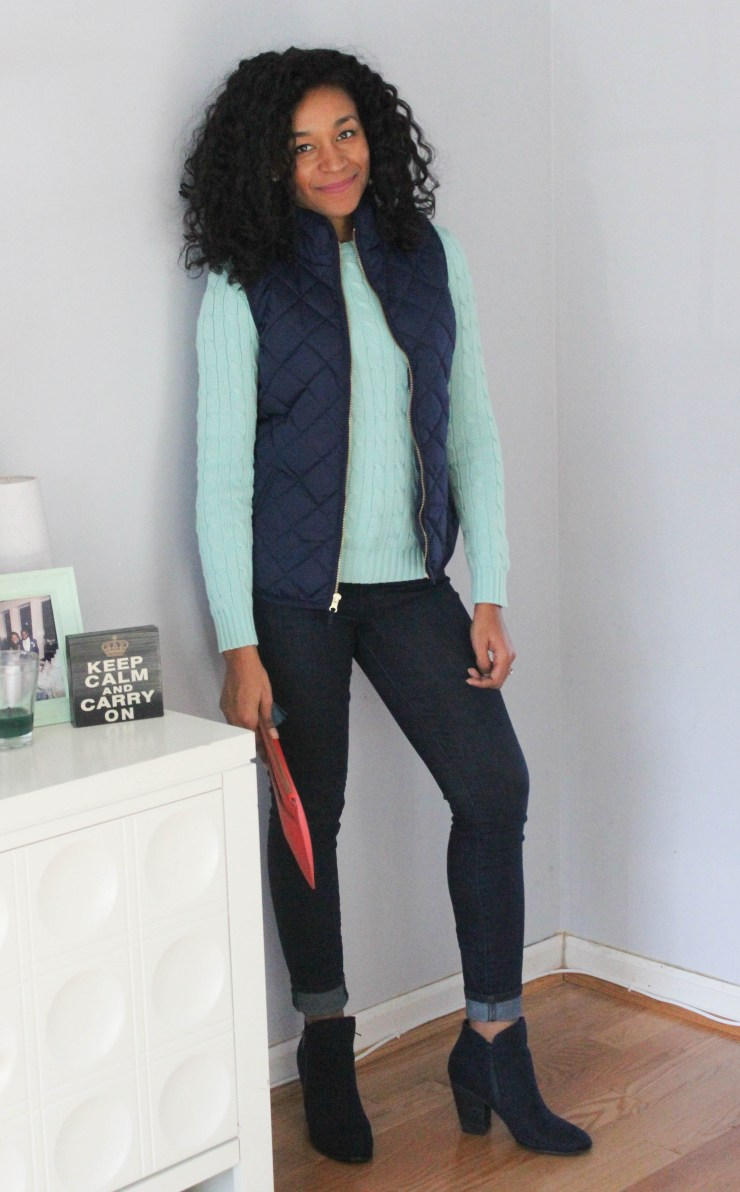 Ralph Lauren Sweater and Old Navy Vest -7961