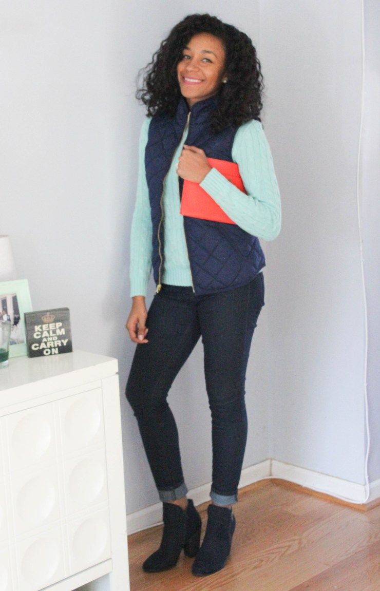 Ralph Lauren Sweater and Old Navy Vest -7978