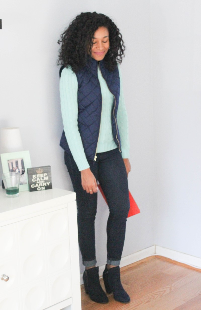 Ralph Lauren Sweater and Old Navy Vest -7991