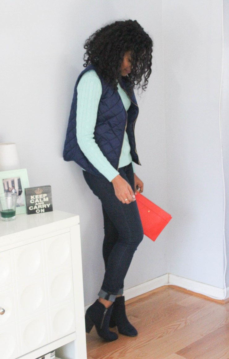 Ralph Lauren Sweater and Old Navy Vest -7994