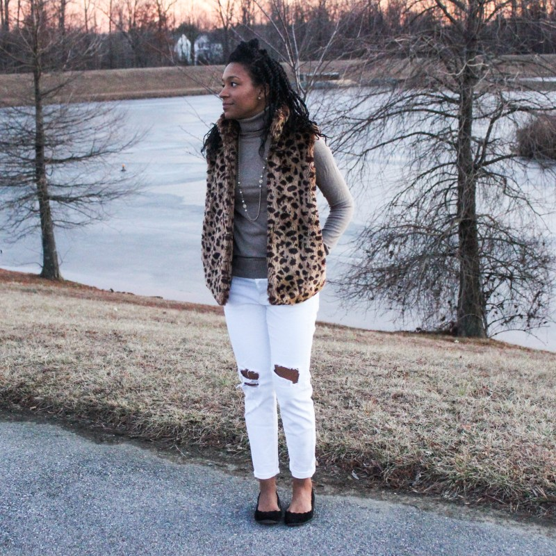 The cutest leopard vest-9884