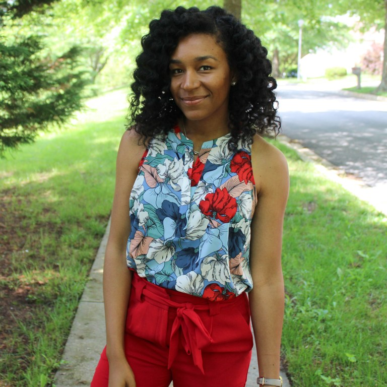 Red & Blue Shirt with Red Express Pants-9546