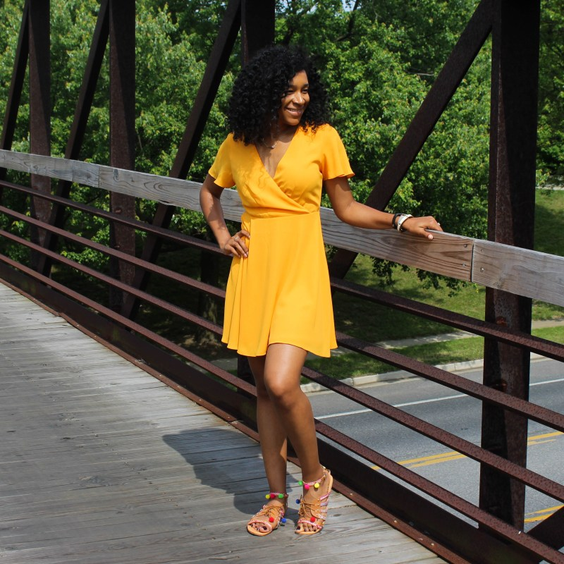 Yellow Sun Dress-0359