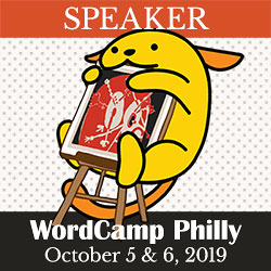 Speaker WordCamp Philly