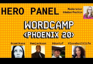 WordCamp Phoenix Hero Panel