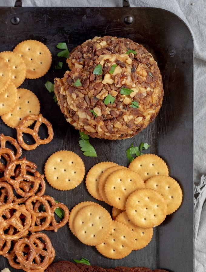 IPA Vegan Cheese Ball