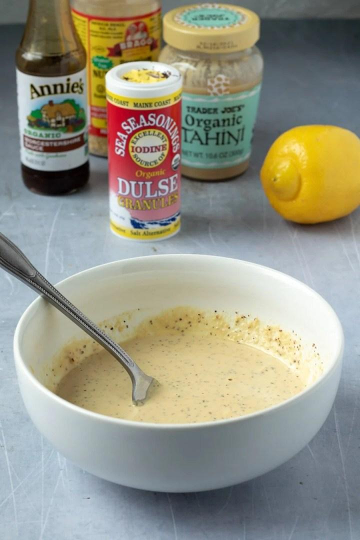 vegan caesar dressing ingredients