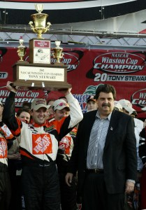HOMESTEAD, FL -  Tony Stewart,(Photo by Robert Laberge/Getty Images).