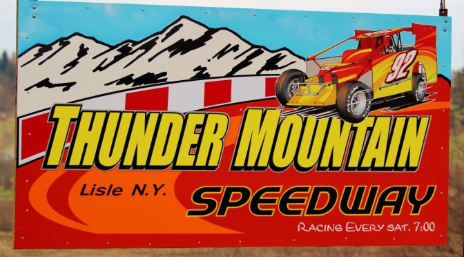 Work Continues At Thunder Mountain Speedway