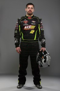 MOORESVILLE, NC - DECEMBER 10: Doug Coby, Champion of the Whelen Modified Tour, poses for a portrait during the NWAAS Series Champions Media Day and Champions Portraits at GoPro Motorplex on December 10, 2015 in Mooresville, North Carolina. (Photo by Streeter Lecka/NASCAR via Getty Images)