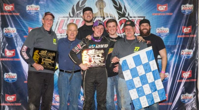 Alex Bright Pulls Off Stunning Victory in Chili Bowl 2016 Opener;