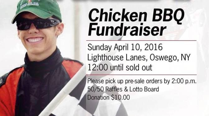 Camden Proud, Mike Bruce Oswego SBS Racing Fundraisers on Tap this Weekend