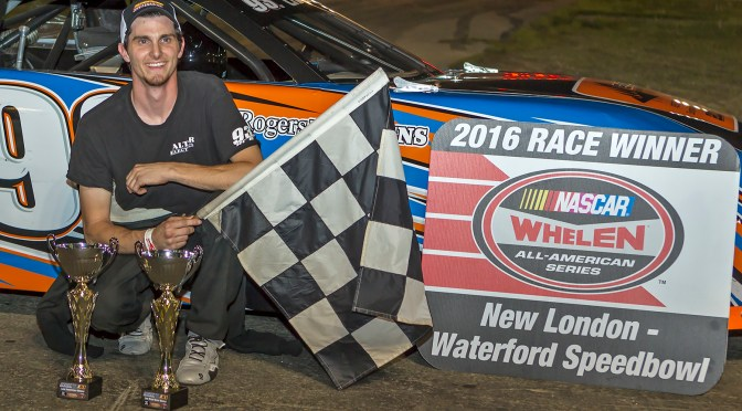 Waterford Speedbowl Sees  First Career Win