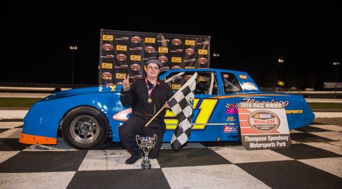 Wood Leads Night of Repeat Winners With Limited Sportsman Long Distance Victory