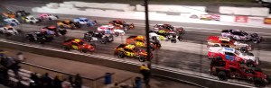 Race of Champions Lancaster National Speedway 4 wide 5 21 2016 2