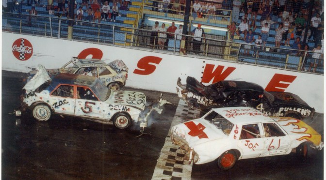 Oswego Speedway Demolition Derby to Pay $1,000 to the Winner on July 16