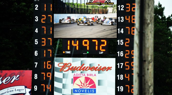 10'x16' Jumbo-Tron, LED Street Display All Part of Oswego Speedway Makeover Prior to 60th Budweiser Classic Weekend