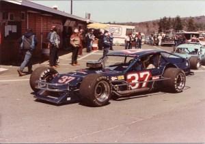 Tommy Druar at Stafford Motor Speedway