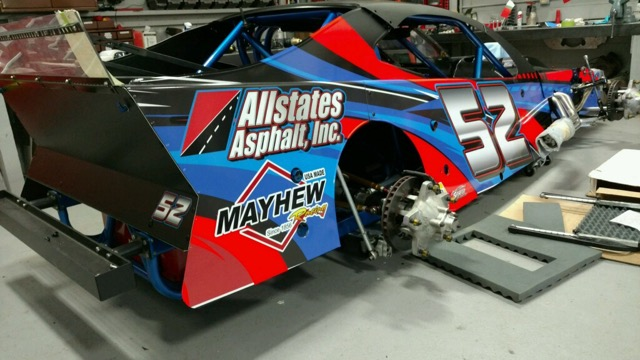 Mayhew Tools To  Sponsor Woody Pitkat  on Modified Series