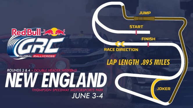 Red Bull GRC Unveils Thompson Speedway Motorsports Park Layout