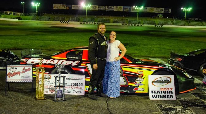 Darling Dominates at Seekonk  Scores First Career GSPSS Victory in Seekonk 100