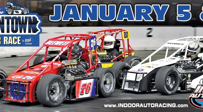 DIRT TRACK MODIFIED ACE DANNY BOUC ENTERS 2018 INDOOR AUTO RACING SERIES