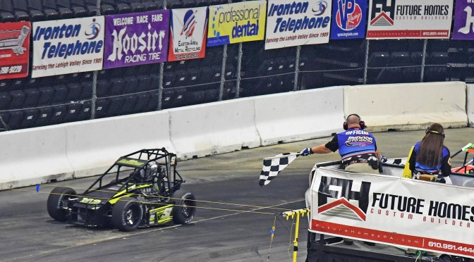 BONSIGNORE AND ROSS WIN FRIDAY NIGHT ALLENTOWN INDOOR EVENTS