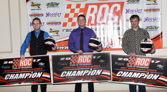 CHAMPIONS AND INDIVIDUALS HONORED AT RACE OF CHAMPIONS  2017 SEASON-ENDING CELEBRATION
