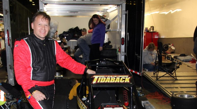 UPDATE ON THREE QUARTER MIDGET RACER MIKE TIDABACK INJURED IN RECENT AC INDOOR RACES