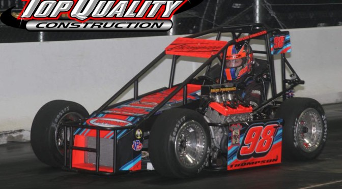 Top Quality Construction Backs Tyler Thompson Ahead of Indoor Auto Racing Championship Finale in Albany