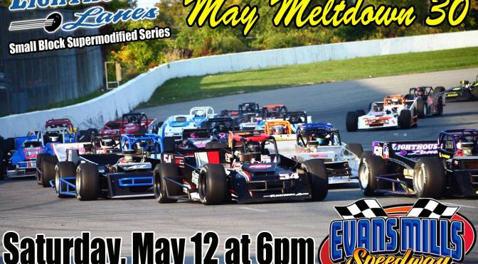 Lighthouse Lanes SBS Series Kicks Off Season this Saturday, May 12 at Evans Mills Speedway