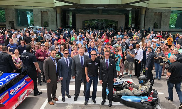 Foxwoods Resort Casino and New Hampshire Motor Speedway Announce Major Sponsorship of Monster Energy NASCAR Cup Series Race