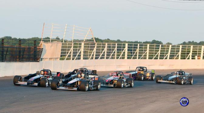 $5 Admission Track Championship Night presented by Skip's Fish Fry and CNY CPR this Saturday, August 18 at Osweg