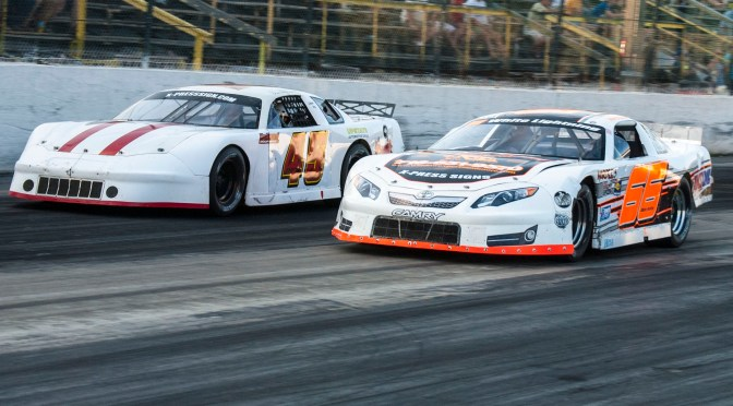 """RACE OF CHAMPIONS LATE MODELS RETURN TO THE TRACK @ HILLSIDE BUFFALO  FOR THE """"RETRUN OF THE BUD 100"""""""