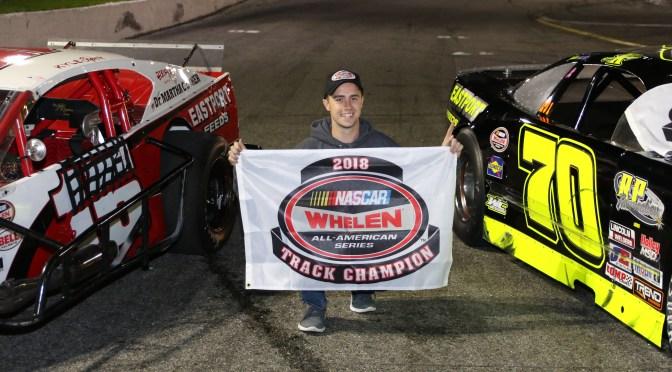 RIVERHEAD RACEWAY TO HONOR CHAMPIONS AT 2018 AWARDS CEREMONY FRIDAY JANUARY 11TH 2019, KYLE SOPER TO BE FETED FOR NASCAR MODIFIED & LATE MODEL TITLES