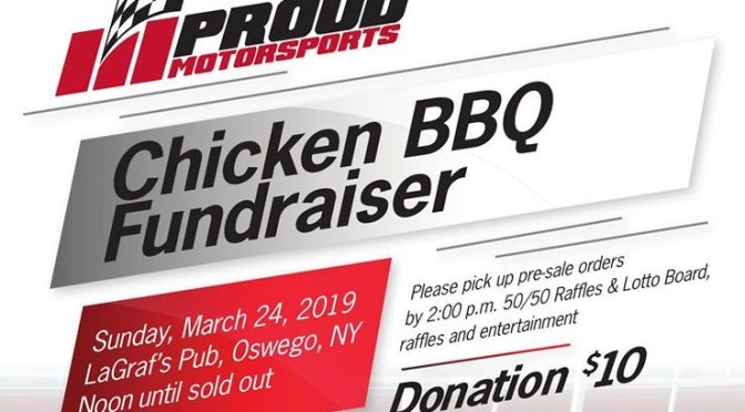 Proud Motorsports Sets Supermodified Chicken BBQ Fundraiser for Sunday, March 24 at LaGraf's Pub