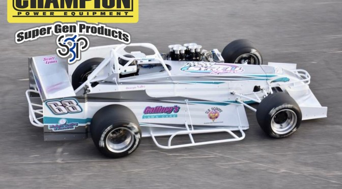 Champion Power Equipment, SuperGen Products to Support Syrell Racing's Supermodified Program at Oswego Speedway