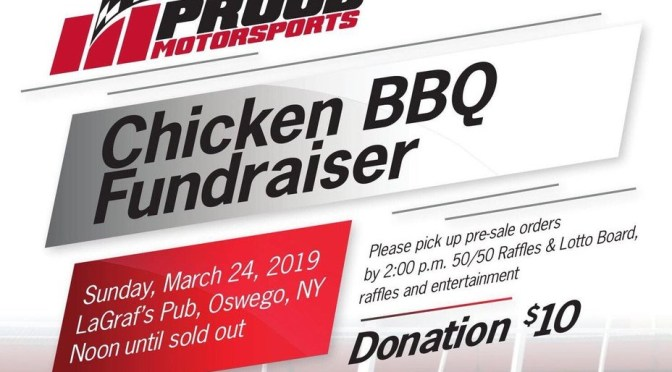 Proud Motorsports Supermodified Fundraiser This Sunday, March 24 at LaGraf's Pub in Oswego