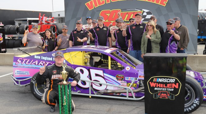 Late Restart Gets Ron Silk Back To Victory Lane at South Boston