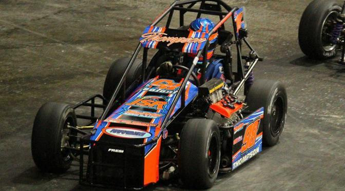 ISMA Rookie of the Year Tyler Thompson Searching for First Indoor Auto Racing Victory at Inaugural Syracuse Event